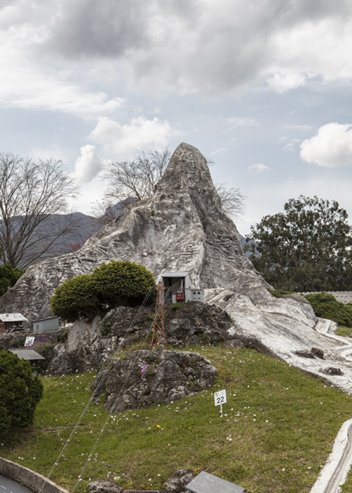 Géométrie du rocher